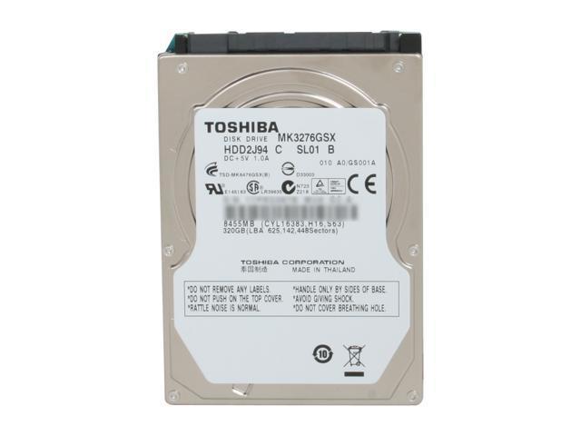 HD Interno 320gb Toshiba Sata II 5400rpm Note P/ Ind - MK3276GSX-P