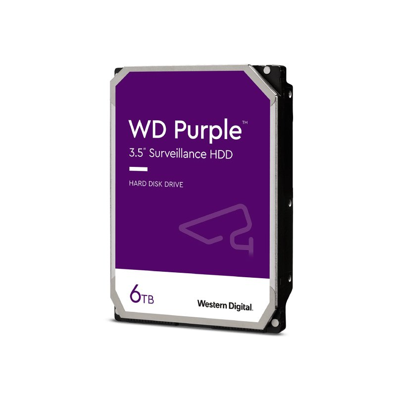 HD Interno 6TB 3.5 SATA III PURPLE SURVEILLANCE - WD60PURZ