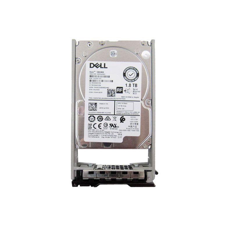 HD Interno DELL 1.8TB 12Gbps 2.5  JY57X/0JY57X - ST1800MM0159