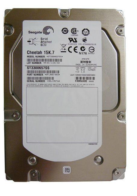 HD Interno SEAGATE 300GB SAS 3.5 6Gbs 15K - ST3300657SS / 9FL066-008