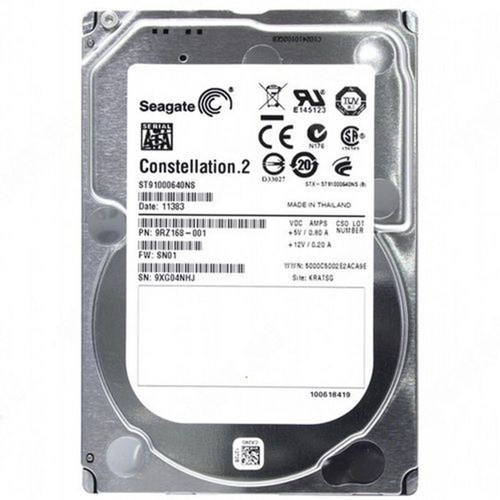 HD Interno SEAGATE CONSTELLATION 2 SA 1TB 2.5 - ST91000640NS