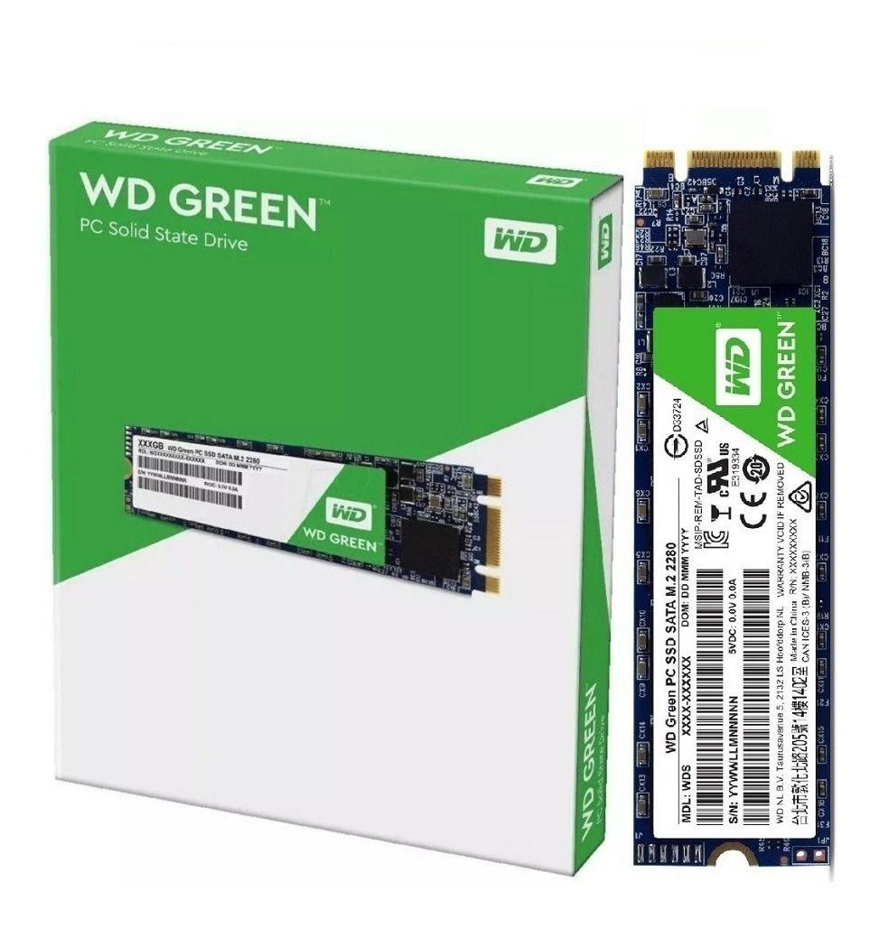 SSD WD Green 120GB M.2 2280 - WDS120G2G0B