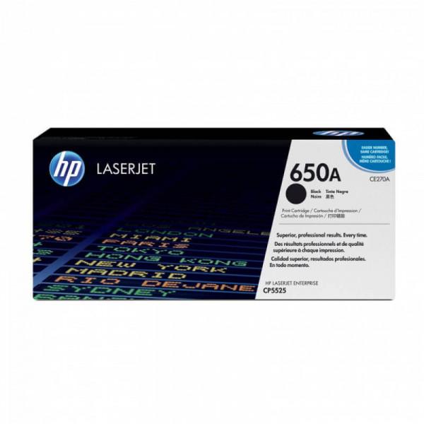Toner HP 650A Preto (CE270A)