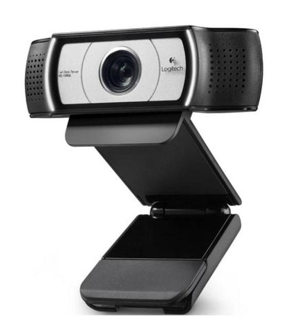 Web Cam com microfone Full HD 1080P C930E 960-000971 LOGITECH
