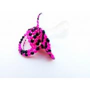 Chupeta Age Play Adulto artesanal - Ref. chu 500/0124 Pink Preto