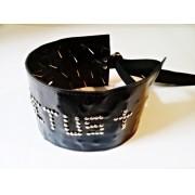 Cilício Torture Leg Couro - Ref. AL028/0114