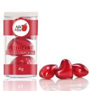 Cápsulas de Coração Vermelho 3 Unidades bolas explosivas - refer: CO003/0209