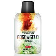 Óleo para massagem beijável FOGO E GELO - Menta Ice - 38 ml -referência CO233/0209