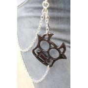 Corrente para calça biju artesanal - Vaquinha - Ref. BIJU 400/0119