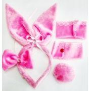 Kit Bicho - Ref. Coelhinha Rosa Escuro 118/0207A