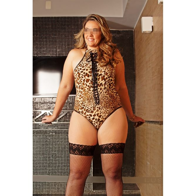 Body Brilho da Noite - Lingerie Plus Size - Refer 9574/0100