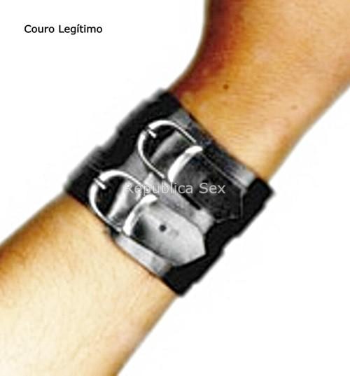 Bracelete Duas Fivelas e tiras longas - Ref. PL385/0106