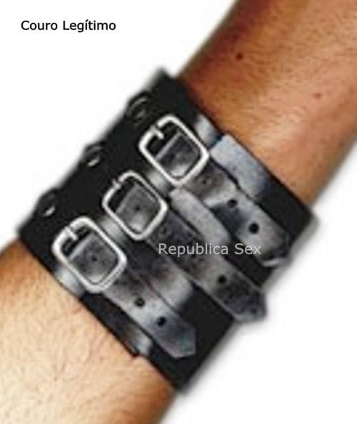 Bracelete Três Fivelas Ref. PL387/0106