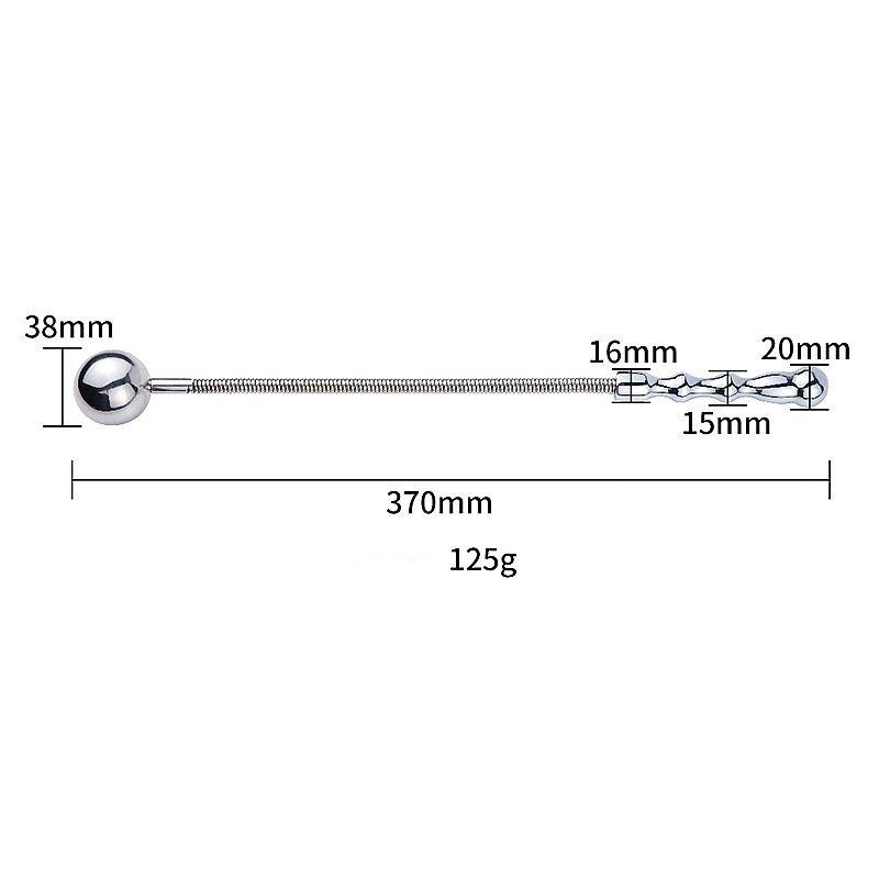 Chicote de Aço Bola - S. Imp - Ref. 6333/0110