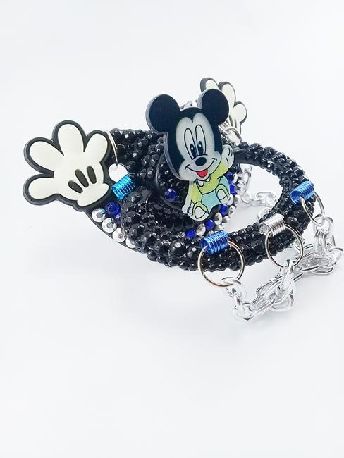 Chupeta Adulto Decorada Tamanho G artesanal Ref 10/0124 Mickey