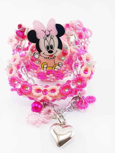 Chupeta Adulto Decorada Tamanho G artesanal Ref 10/0124 Minnie