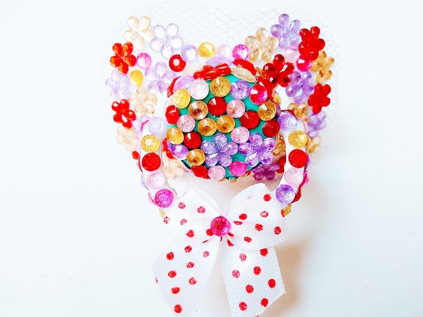 Chupeta Age Play artesanal  decorada - Ref. chu 500/0124 Florzinha