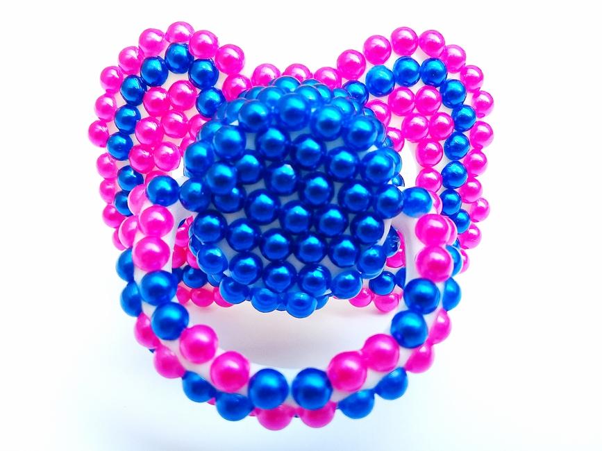 Chupeta Age Play  artesanal - Ref. chu 500/0124 Pink