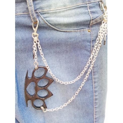 Corrente para calça biju artesanal - S.I. B - Ref. BIJU 400/0119