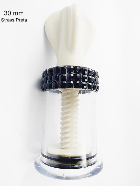 Estimulador sugador mamilo ventosa Decorado Artesanal - REF. 001/0108 Médio