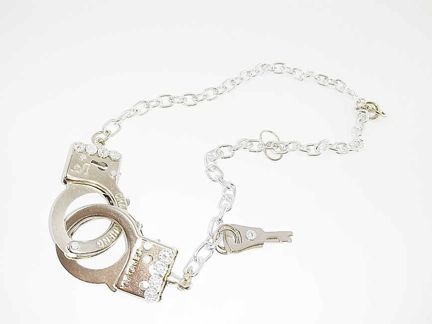 Gargantilha Algema Metal Artesanal Feminina - REf. 21/0119