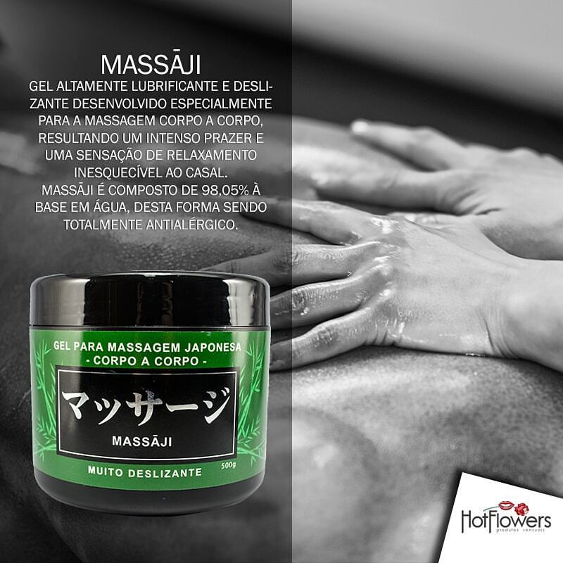 Gel para Massagem Nyru - Massaji - 500g - Referência HC516/0207
