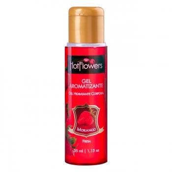Gel de Morango Aromatizante Comestível - 35 ml - Referência HC110/0208