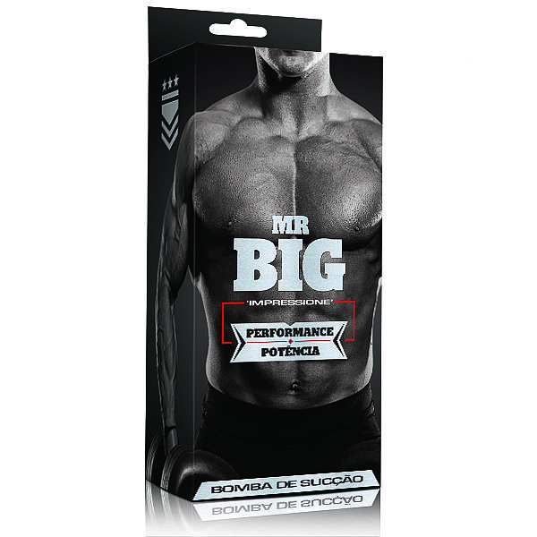Bomba Peniana - Desenvolvedor Peniano, Mr Big  Fumê - Manual Pêra - refer: LB004F/0742