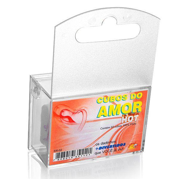 Dados Jogo do Prazer Hot - com caixa acrilico - refer: LD015/0211
