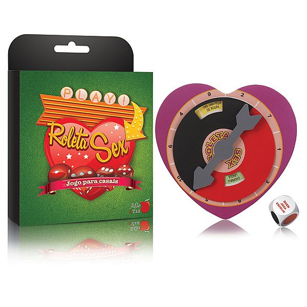 ROLETA SEX - Jogo para Casais - referência: LD023/0211