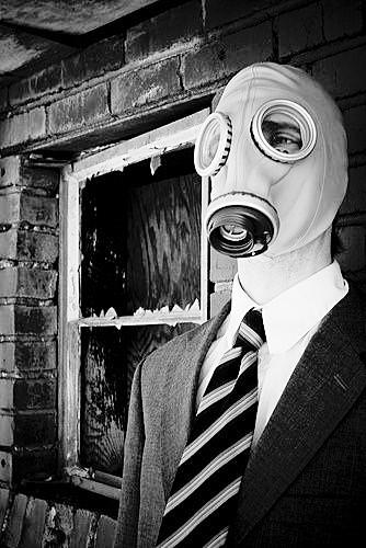 Máscara de Gás de Borracha Estilo Soviético -  Ref. GP5/0113
