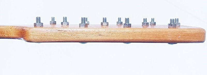 PALMATORIA DE MADEIRA COM GRAMPOS ARTESANAL - REF SMGR101/0116