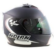 Capacete Nolan N64 MotoGP Flat Black c/ Branco - SuperOferta