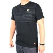 Camiseta Ferrari STYFR-SF TEE Puma Black Oficial