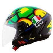 Capacete AGV Blade Tartaruga Valentino Rossi (PRONTA ENTREGA)
