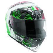 Capacete AGV Horizon Absolut Verde -SÓ XL-62 (Obs: capacete com pequenos detalhes - consulte nossos atendentes)