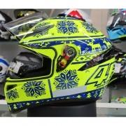 Capacete AGV K-1 Winter Test 15 Valentino Rossi (k-1 - COM + 1,00 LEVE JUNTO A TOUCA BALACLAVA)