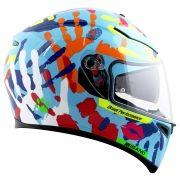 Capacete AGV K-3 SV MISANO Hands 2014 Valentino Rossi C/ Viseira Interna Solar