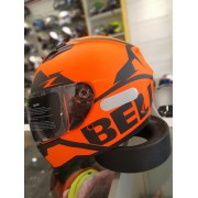 CAPACETE BELL QUALIFIER MOMENTUM MATTE ORANGE SNOW
