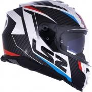 Capacete LS2 FF800 Storm Racer + viseira