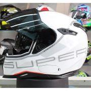 Capacete Nexx SX100 Super Speed White C/ Viseira Solar CONSULTE-NOS