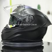 Capacete Nexx Sx100R Preto Fosco - Acompanha Pinlock (Película Anti-Embaçante)