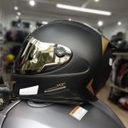 Capacete Nexx XR2 Carbon Golden Edition: Brinde Viseira Espelhada Dourada + Pinlock