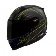 Capacete Nexx XR2 Carbon Pure Neon Tri-Composto