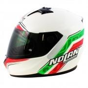 Capacete Nolan N64 Italy Metal White