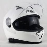 CAPACETE NOLAN N87 CLASSIC - METAL WHITE - Ganhe Balaclava Exclusiva!