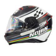 Capacete Nolan N87 Superbike (60) C/ Viseira Solar (Ganhe Pinlock + Touca Balaclava)