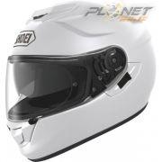 Capacete Shoei GT-Air Branco com Pinlok e Viseira Solar - SuperOferta