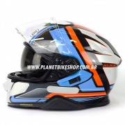 Capacete Shoei GT-Air II Haste TC-2 C/ Pinlock
