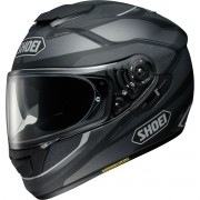Capacete Shoei GT-AIR Swayer TC-5 (Preto / Cinza) Com Anti-Embaçante